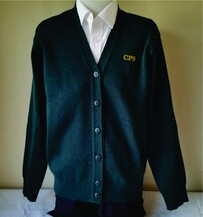 CPS girls knit cardigan