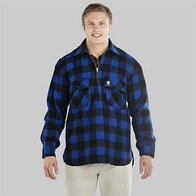 Swanndri Ranger shirt - Blue/Black check