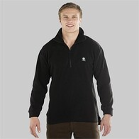 Swanndri Men's Motu Fleece Pullover - Black