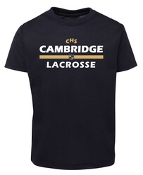 CHS Lacrosse short sleeved tee - optional name