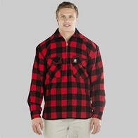 Swanndri Ranger shirt - Red/Black check