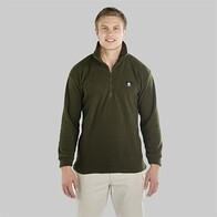 Swanndri Men's Motu Fleece Pullover - Olive